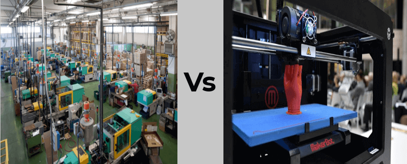 Traditional Manufacturing Vs 3d Printing – A Cost Analysis