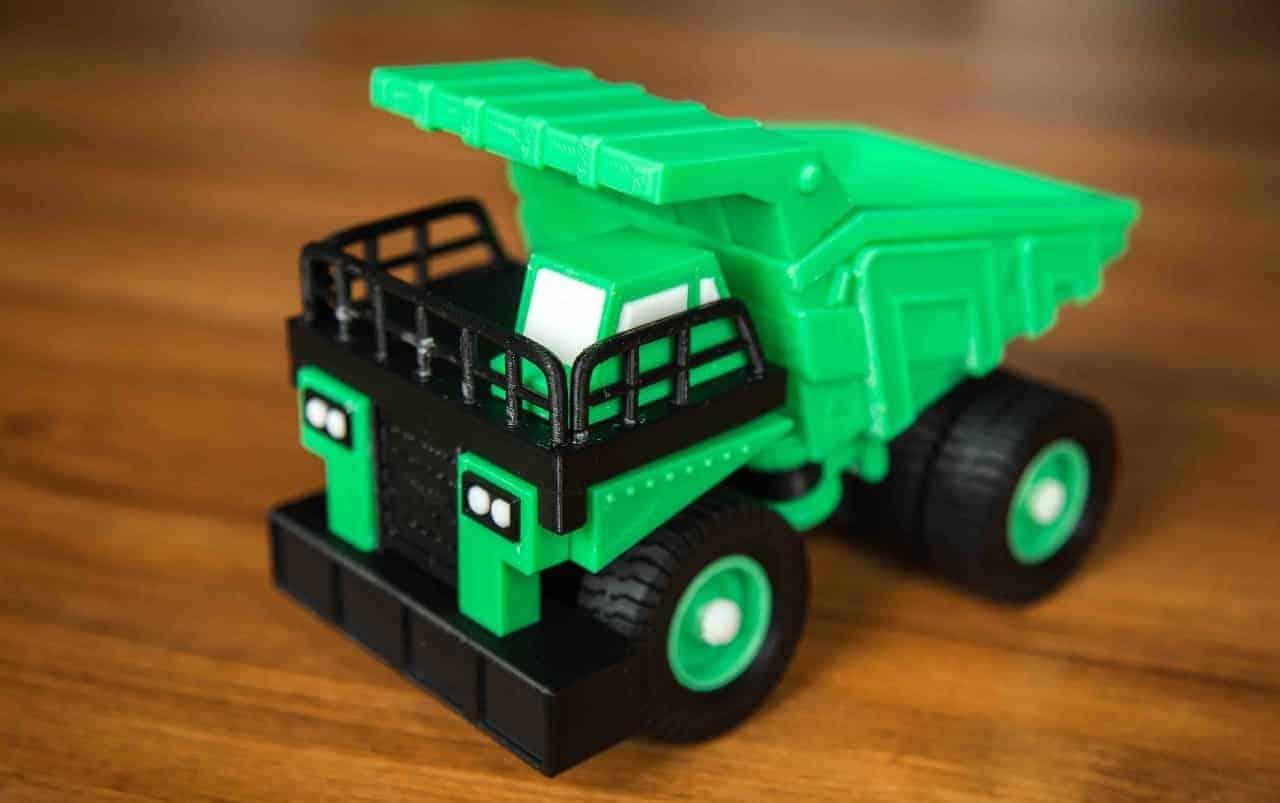 3D printed truck